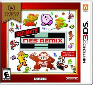 Nintendo Selects: Ultimate NES Remix - 3DS [video game]