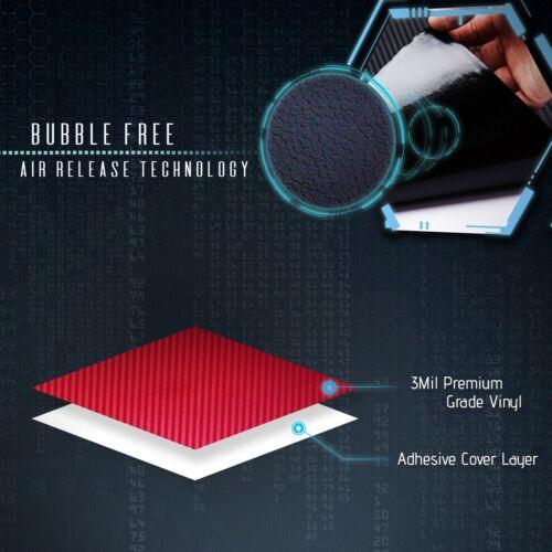 """3D Silver Carbon Fiber Matte Vinyl Wrap Bubble Free Air Release 36/"""" x 60/"""" In"""
