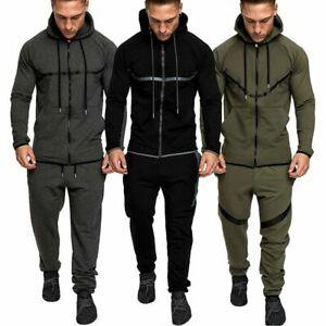 New BBH Mens Tracksuit Top Fleece Designer Slim Fit Hooded Fitness Gym Hoodie