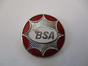 Vintage Uk Made Bsa Manufacturer Mfg Motorcycle Sales Award Badge Pin Ebay