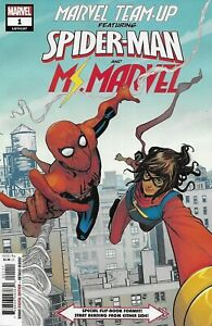 Details about Spider-Man Ms  Marvel Team Up Comic Issue 1 Modern Age First  Print 2019