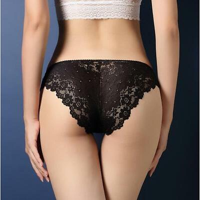 Women Lady Sexy Lace Briefs Floral Shorts Panties Underwear Knickers Underpants