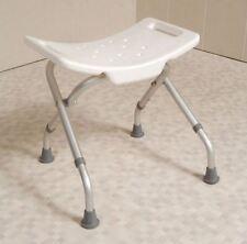 Easy Folding Travel Portable Shower Stool Bathroom Seat Bath Disability Aid
