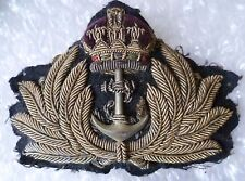 Badge- WW1 Royal Navy Officer's Cap Badge
