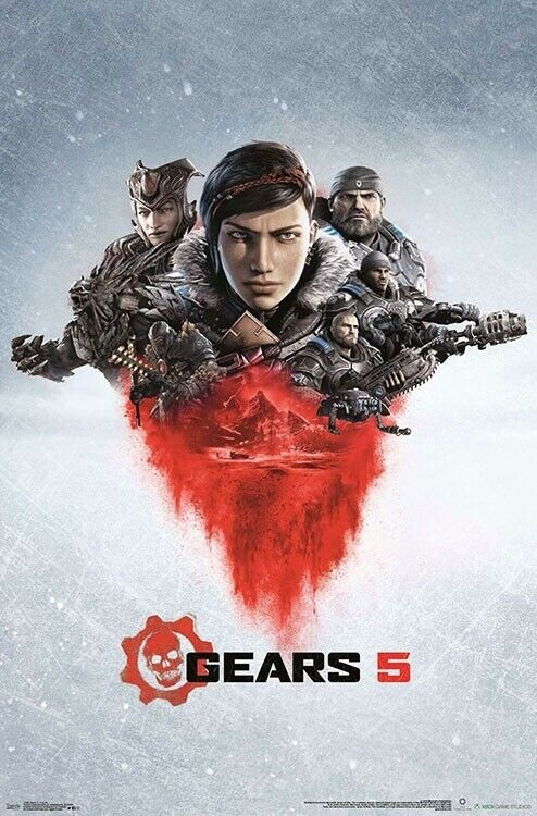 VIDEO GAME POSTER 22x34-17501 ICE OMEN GEARS 5