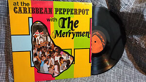 The-Merrymen-LP-At-the-Caribbean-Pepperpot-with-The-Calypso-Private-VG