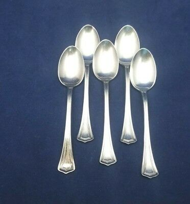 Oneida Scotia 1915 1908 Silverplate Demitasse Spoon 4 3 8 Set Of 5 Ebay