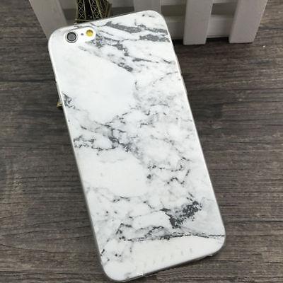 Vintage Granite Marble Texture Soft TPU Phone Case for iPhone 5 6 PLUS Range