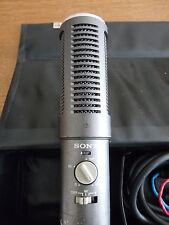 Rare Sony Professional ECM-979 variable stereo field Condenser Microphone ex BBC