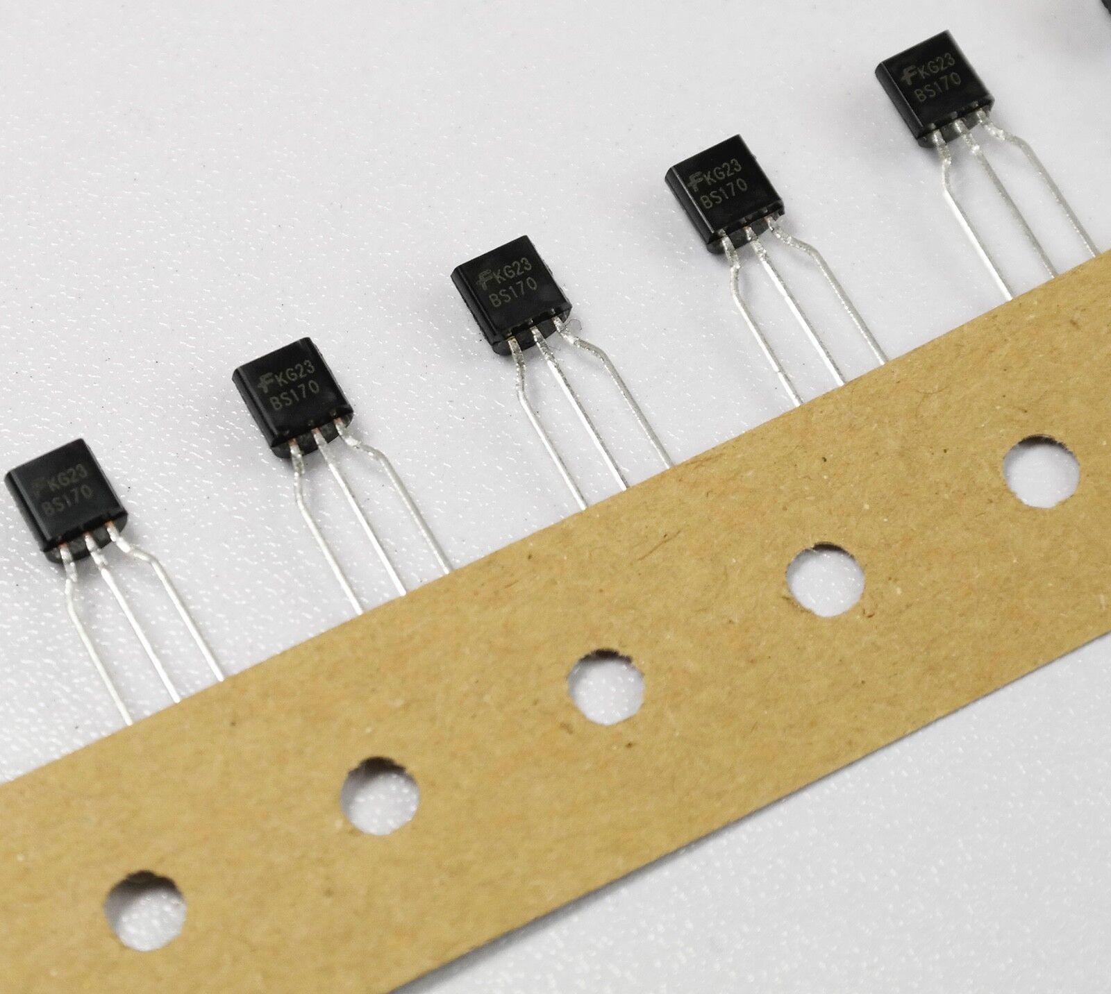 5 Transistoren BS 170 MOSFET - Transistor , N - Channel