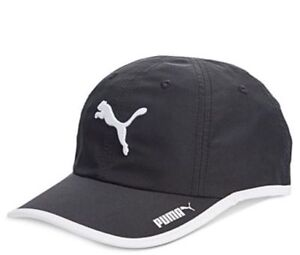 a59a15a7d3d Image is loading PUMA-Unisex-Greta-Running-Cap-Hat-Black-White-
