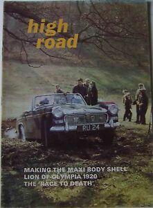 High-Road-Jun-1969-Austin-Maxi-Rover-2000-amp-3500-Leyland-Eight-Paris-Madrid-race