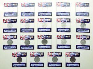 Coin-Set-FREE-SHIPPING-20-groszy-Poland-lot-19-coins