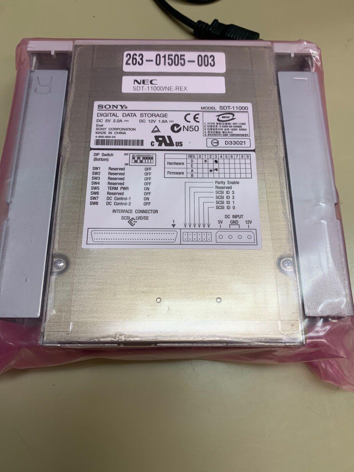 Sony Digital Data Storage NEC SDT-11000//NE-R SDT-11000 NEW