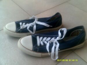 MENS-034-LEE-COOPER-034-LOW-CUT-BLUE-WHITE-SNEAKERS-SHOES-SIZE-12