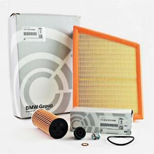 Original BMW Oil Filter Air Filter + Screw Filter Set 2er F45 F46 I12 i8 X1 F48