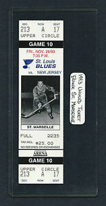 1993-UNUSED-ST-LOUIS-HOCKEY-TICKET-FRANK-ST-MARSEILLE-for-Devils-at-the-Blues