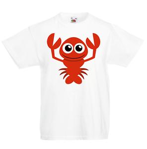 Langosta Kid's T-shirt Niños Chicos Chicas Unisex Camisa