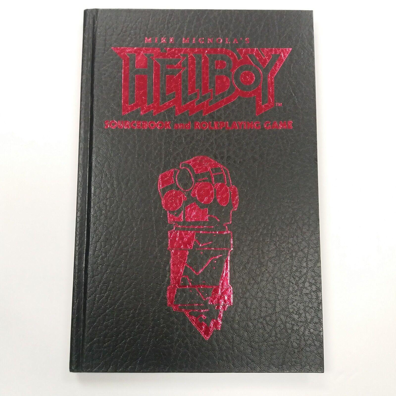 Juego de rol de Hellboy libro de consulta y edición limitada Steve Jackson Games 2002