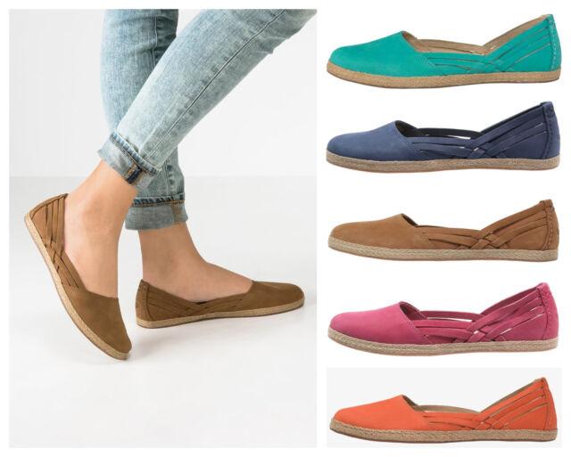 7dc6fd86e17 UGG Red Pink BNIB £70 Tippie Women Nubuck Slip On Pump Espadrilles Shoes