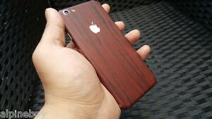 For-Apple-iPhone-Skin-Case-Wrap-Sticker-Decal-Textured-Cover-Wood-Grian