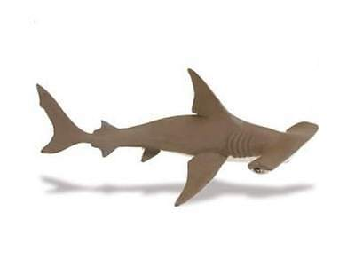 Safari Ltd 267929 Hammer Headed Shark Pup 17 Cm Series Water Creature Sturdy Construction Toys & Hobbies