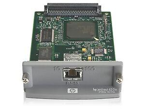 HP JET DIRECT 610N J4169A EIO 10//100 PLUG IN PRINT SERVER CARD GOOD