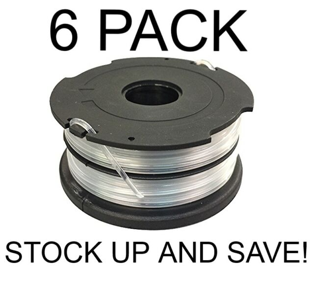 065 In x 40 Ft Dual Line AFS Replacement Spool for Black & Decker 6-pack