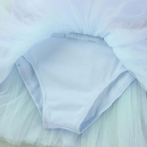 Toddler Girls Ballet Dance Dress Kids Gymnastics Leotard Skirt Ballerina Costume