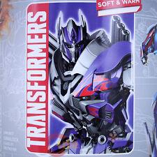 Transformers Plush Blanket  Microfiber Raschel Throw Blanket  Age of Extinction