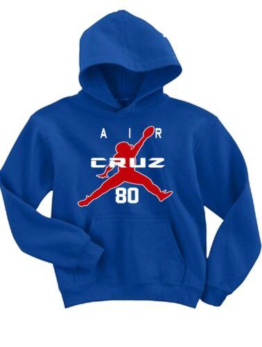 """Victor Cruz New York Giants /""""Air Cruz/"""" Hooded SWEATSHIRT HOODIE"""