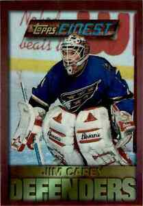 1995-96-Topps-Finest-Refractor-Jim-Carey-66