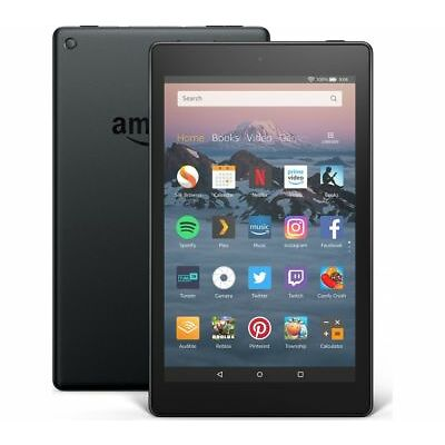 AMAZON Fire HD 8 Tablet (2018) - 16 GB, Black - Currys