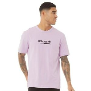 adidas Originals Kaval Tee Size S Lilac RRP £30 Brand New DH4968