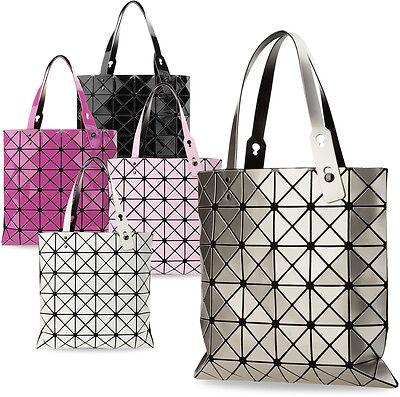 Damentasche Shopperbag 3D dreidimensional Henkeltasche geometrischen Muster!