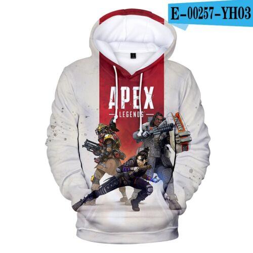 Apex Legends Game PC Jeux Hoodie Capuche Pull Cadeau