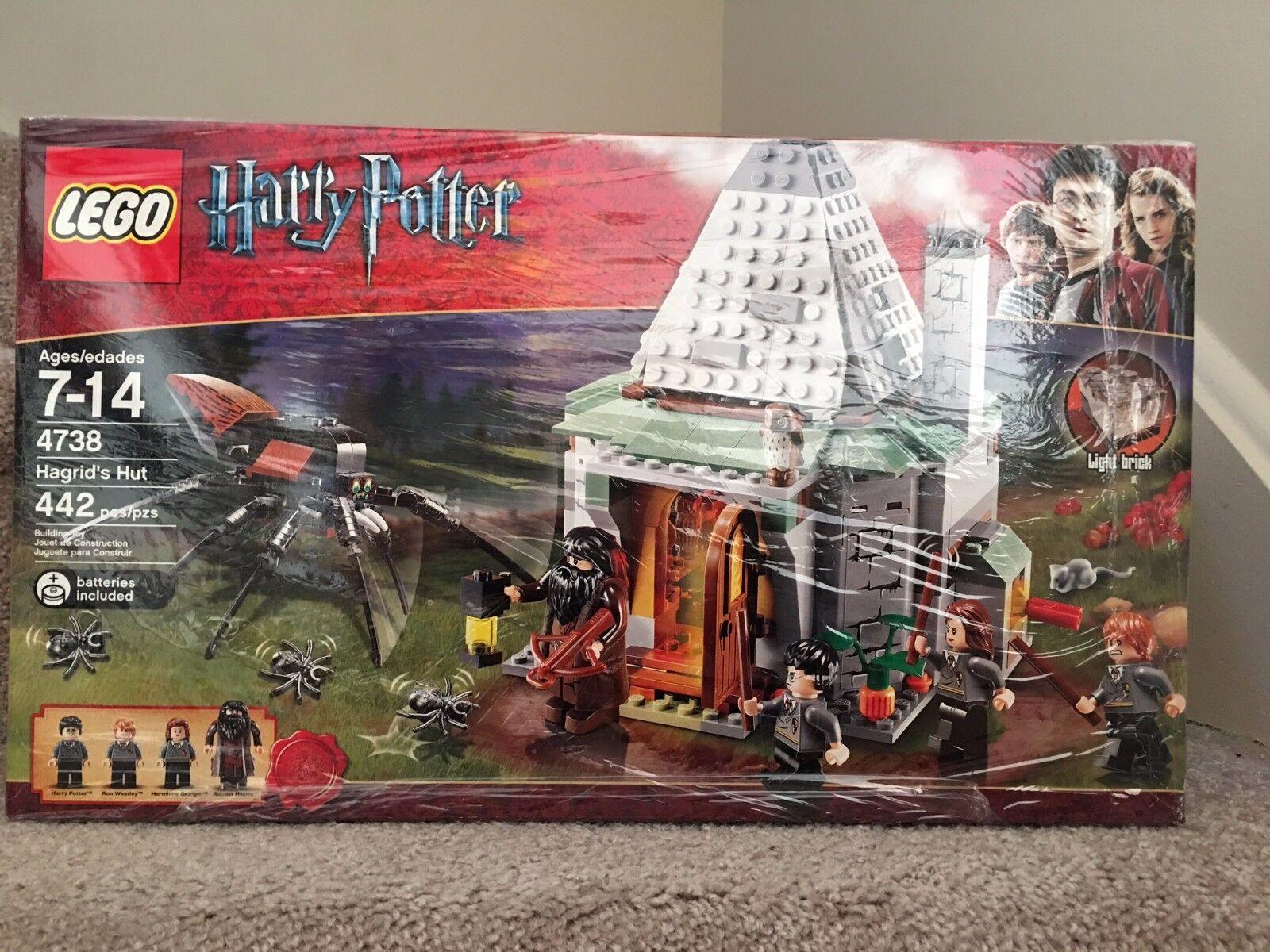 NEW LEGO Harry Potter Hagrid's Hut 4738 , SEALED