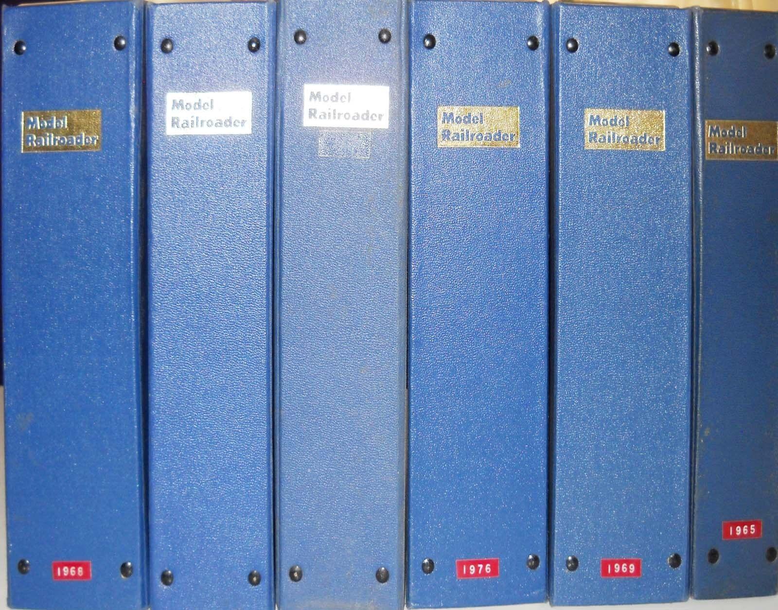 6071_MODEL RAILROADER MAGAZINE BINDERS COVERS