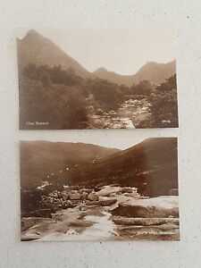 Vintage-Postcard-set-of-two-Glen-Sannox-84-85