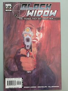 BLACK WIDOW THE THINGS THEY SAY ABOUT HER #2 (2006) MARVEL COMICS AVENGERS