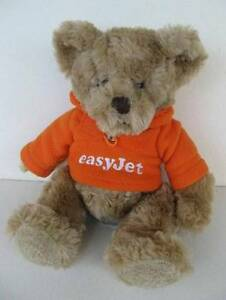 Russ Berrie EasyJet Airline Gulliver Teddy Bear Plush Toy - 24cm