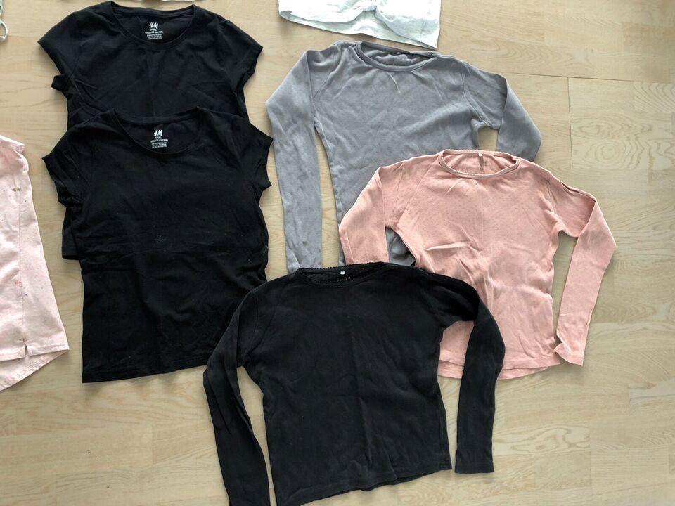 Blandet tøj, Pigepakke str 134/140, Forskellige