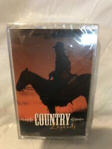 Country-Legends-Various-Artists-BN-Sealed-Cassette-Tape-Nelson-Jennings-Etc