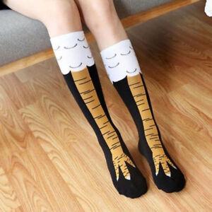 13ed9a597 Women Chicken Foot Socks Leg Knee Socks Chicken Socks Performance ...