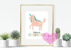 Girly Unicorn Kids Room 3