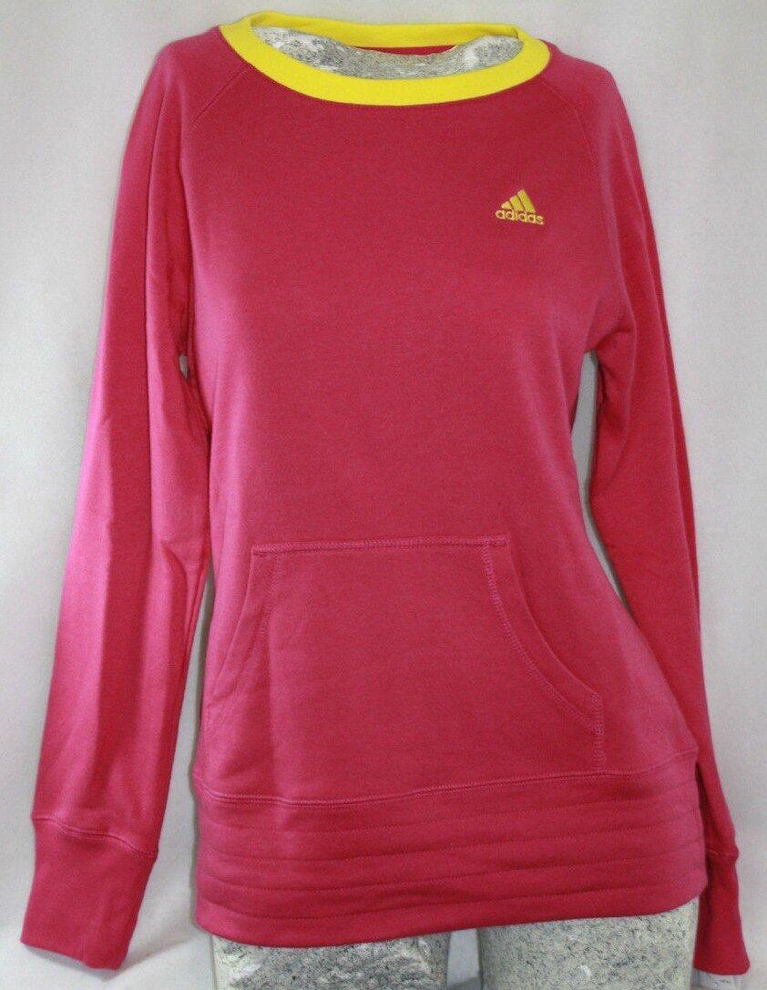 NEUE Mädchen Kinder Jugend ADIDAS BX-R77MT N 67 Knall Rosa Pullover Sweatshirt