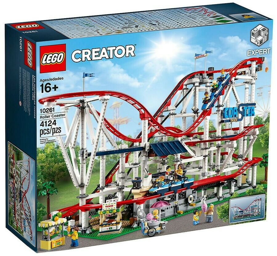 LEGO Creator Roller  Coaster Set  10261  confortable