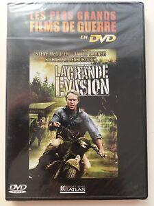 La-grande-evasion-DVD-NEUF-SOUS-BLISTER-Steve-McQueen-Charles-Bronson
