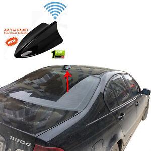 bmw e46 shark fin functional black antenna compatible for am fm radio ebay. Black Bedroom Furniture Sets. Home Design Ideas