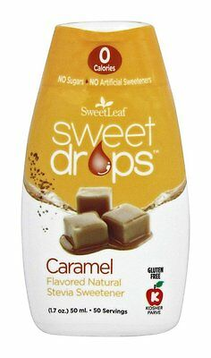 SweetLeaf - Sweet Drops Natural Stevia Sweetener Caramel - 1.7 oz.